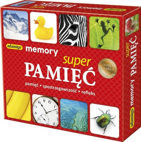 52a72f86376fda Memory Super Pamięć Gra Pamięciowa Memo Adamigo